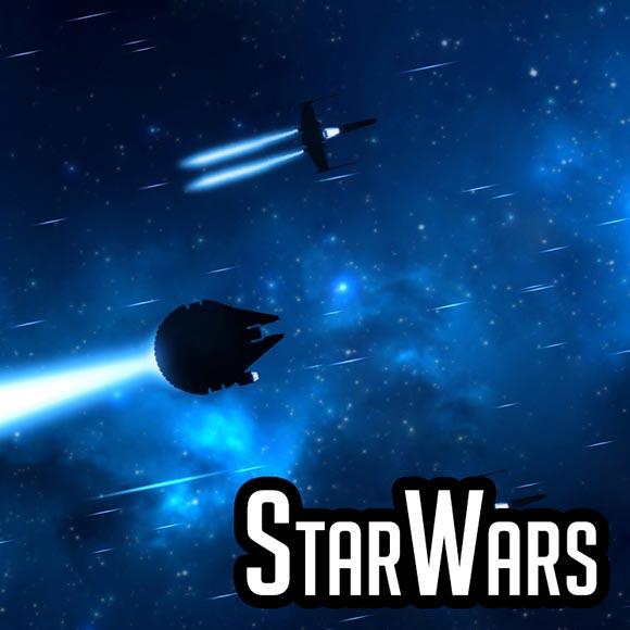 Starwars Hyperspace - Sébastien DEL GROSSO Wallpaper Engine