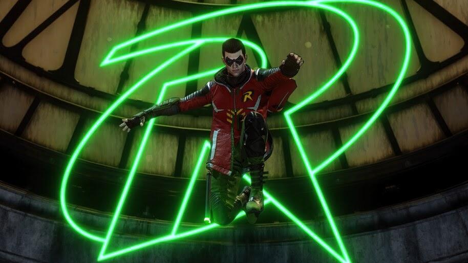 Robin, Gotham Knights, Logo, 4K, #3.2562