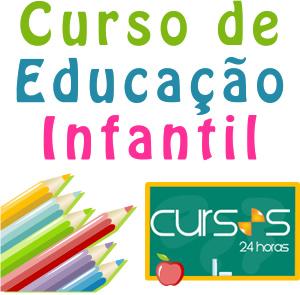 Curso Educação Infantil | Cursos 24 horas