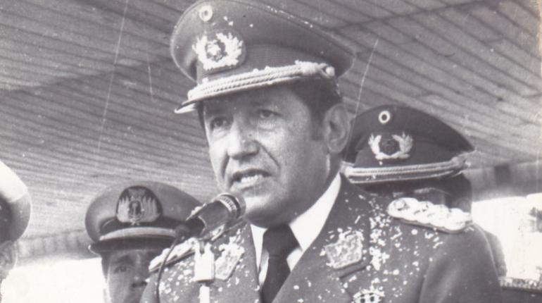 Luis García Meza Tejada gobernó de facto entre julio de 1980 a marzo de 1981 / ARCHIVO