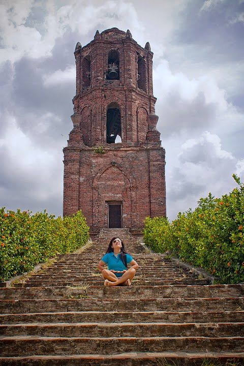 Staris of Bantay bell tower