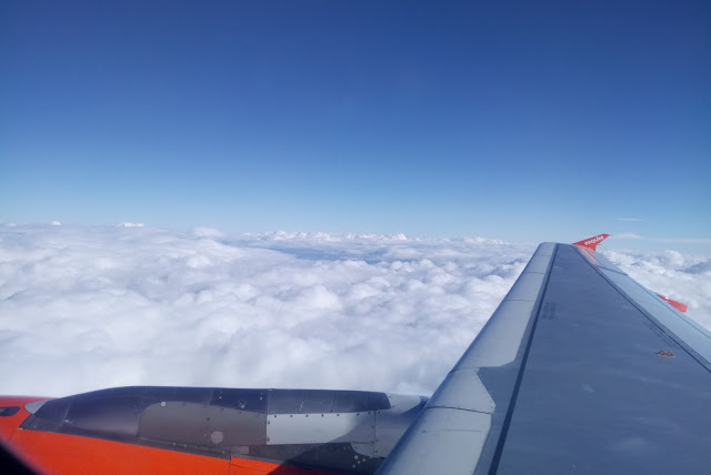 View from EasyJet Window