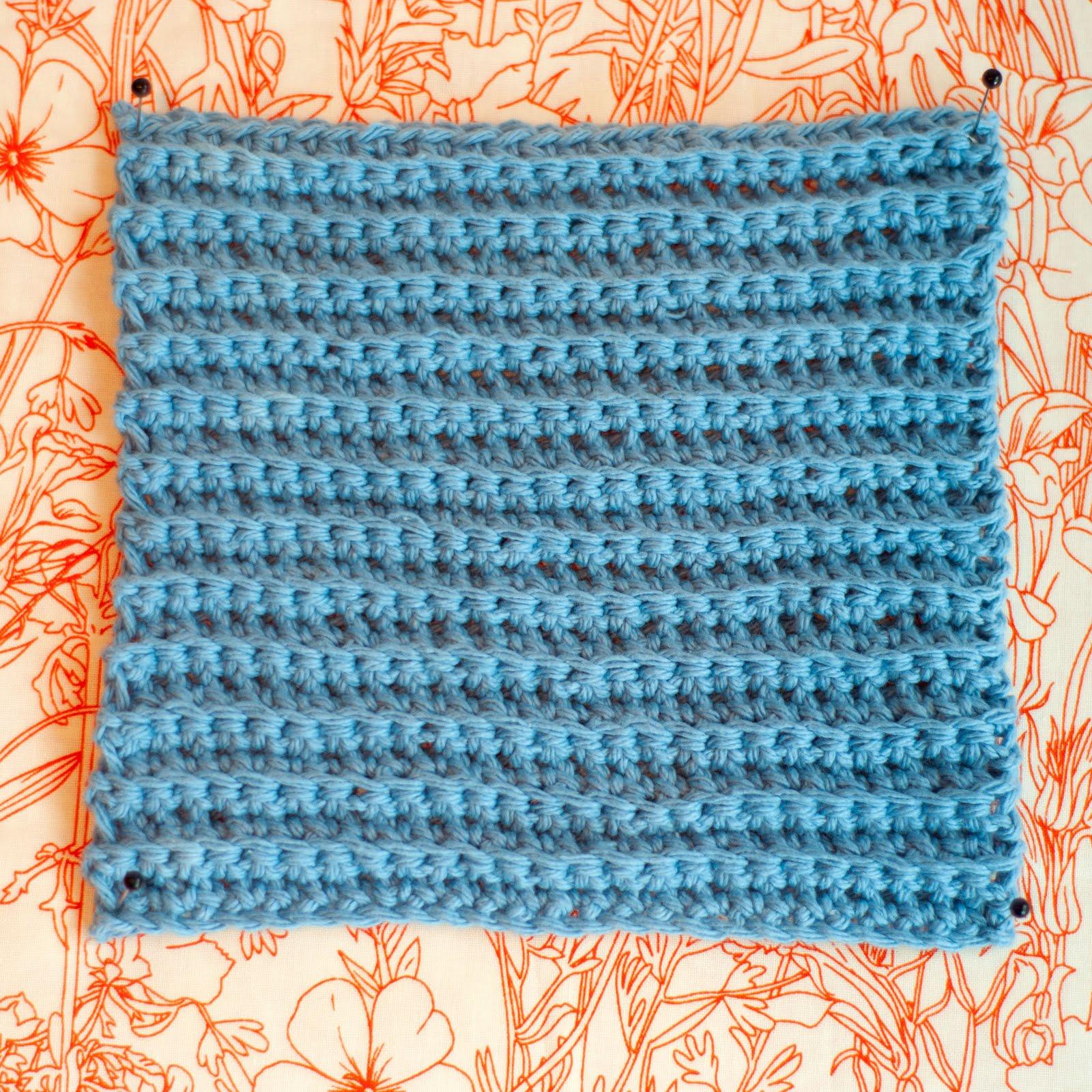 Aesthetic Nest Crochet Ribbed Washcloths Tutorial