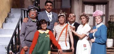 O elenco original de Chaves, humorístico mexicano que é exibido com sucesso até hoje pelo SBT