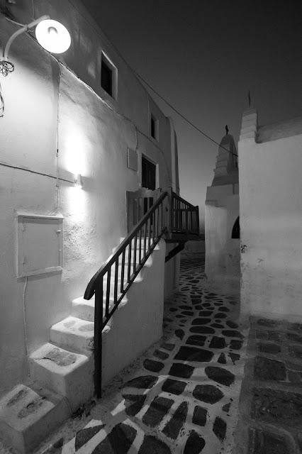 Mykonos town di notte