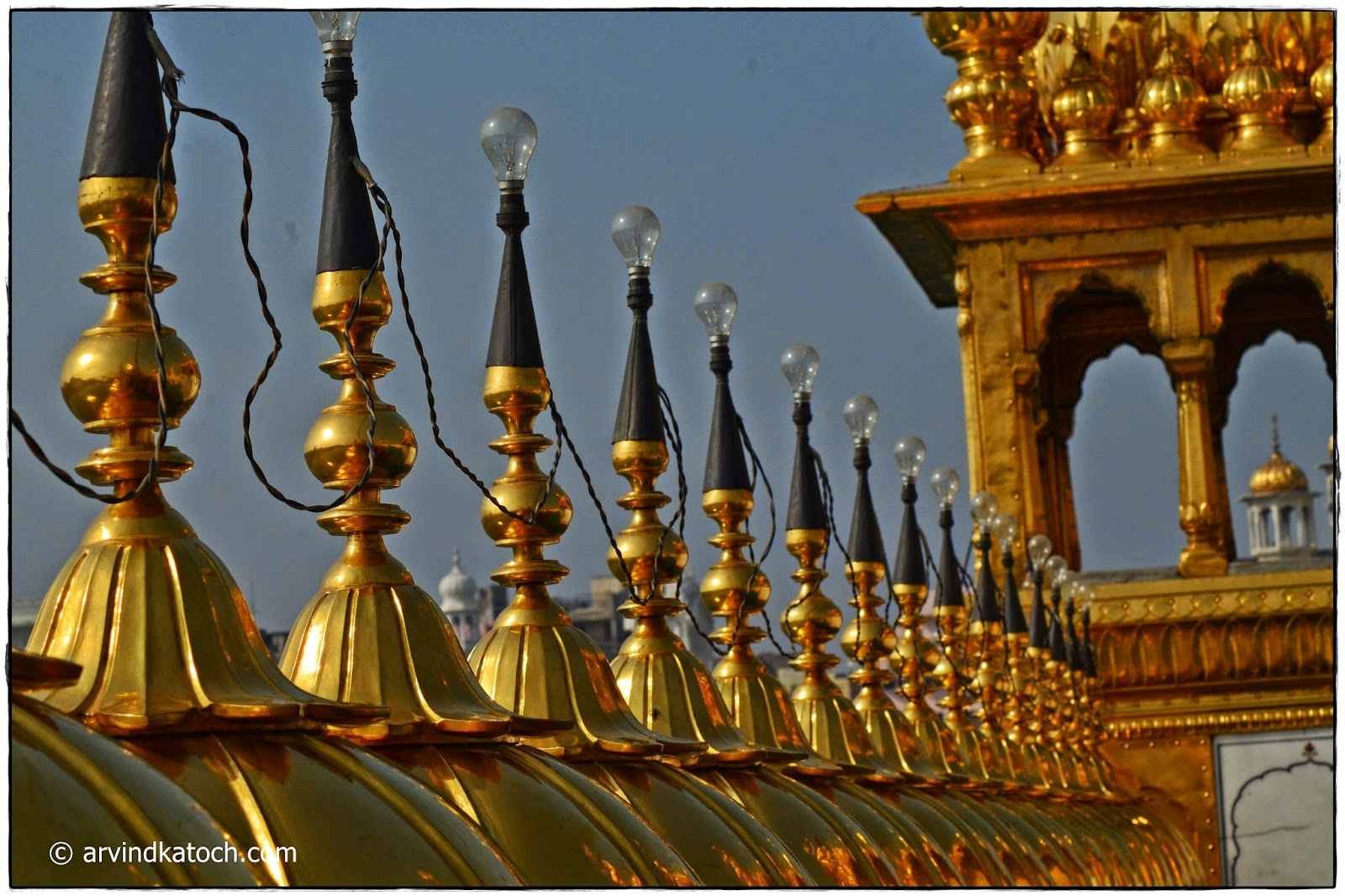 Light Bulbs, Golden temple, Amritsar,