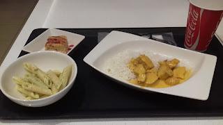 Curry mit Reis morgens um 3 Uhr