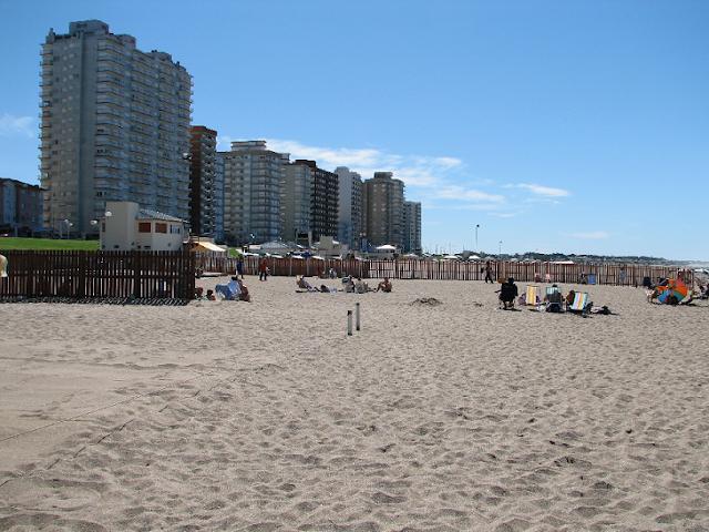 Praia Miramar na Argentina