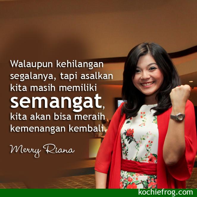 Gambar DP BBM Kata Bijak Merry Riana untuk Motivasi  DP