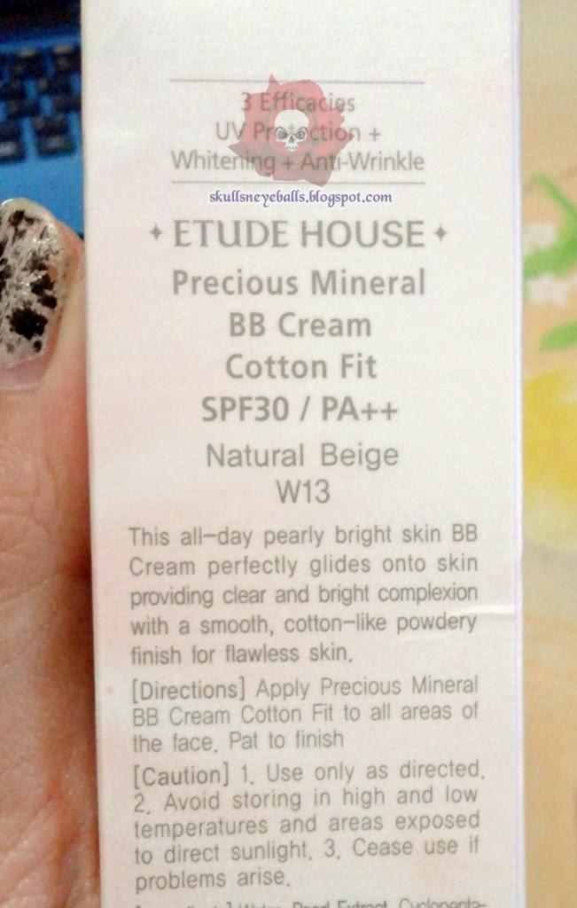 Etude Cotton Fit Natural Beige Review