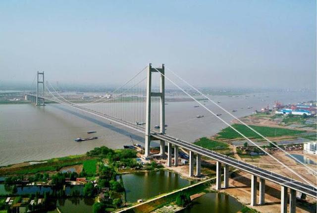 Runyang Bridge -jembatan terpanjang di dunia