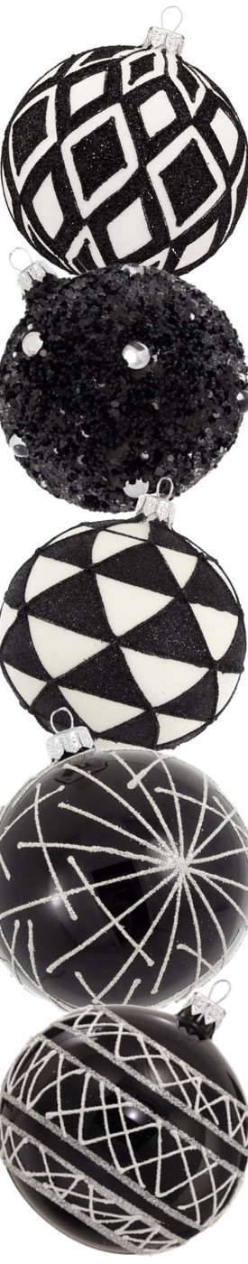 Dagmara Beaded Glass Ball Assorted Ornament s (sold separately)