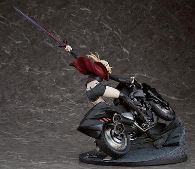 """Imágenes y detalles de Saber / Altria Pendragon (Alter) y Cuirassier Noir de """"Fate/Grand Order"""" - Good Smile Company"""