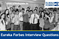 Eureka Forbes Interview Questions