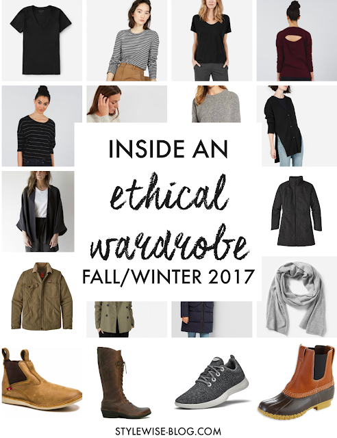 an ethical capsule wardrobe fall winter 2017 2018