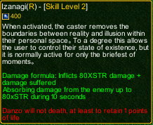 Naruto Castle Defense 6.0 Izanagi detail