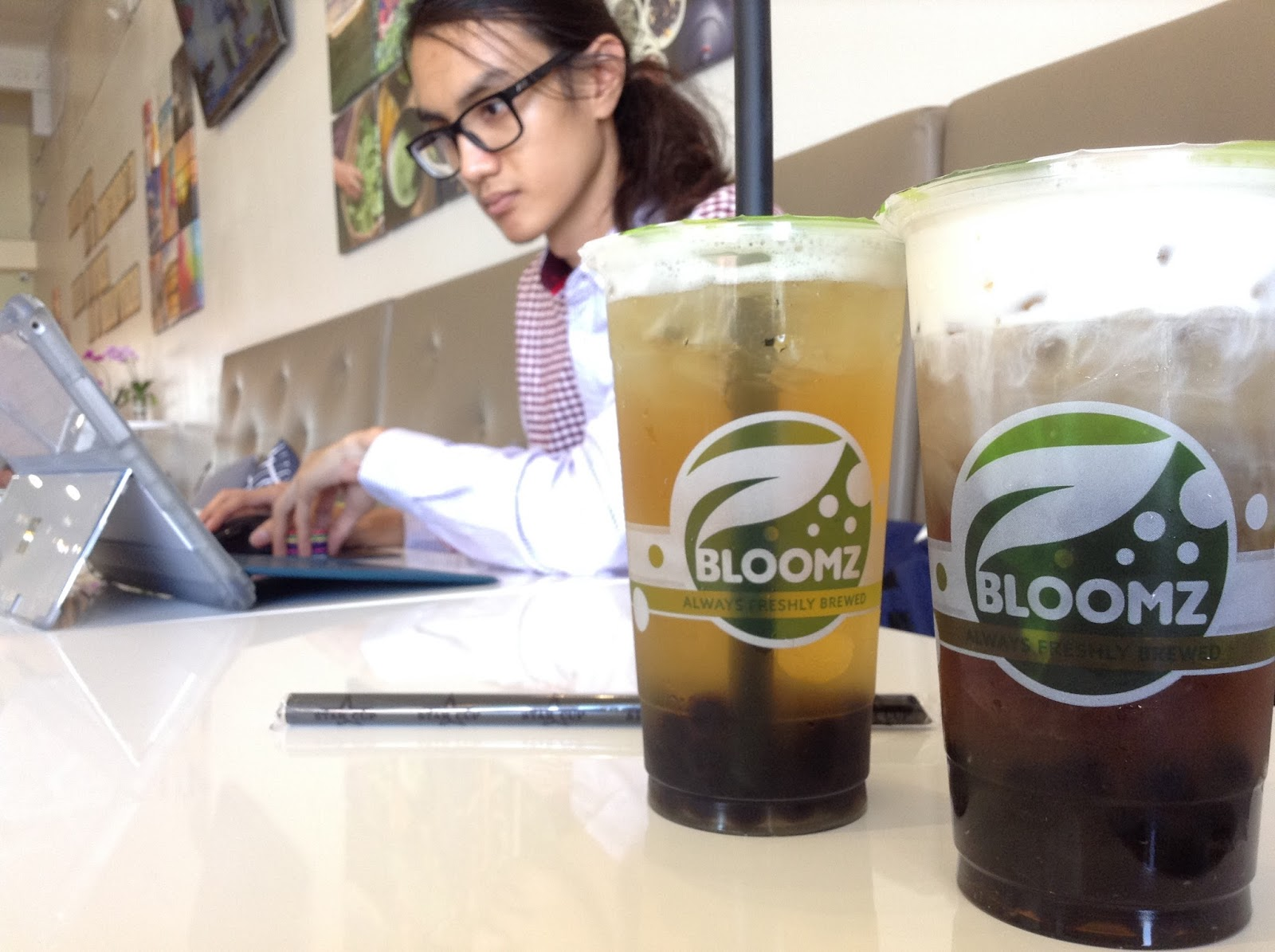 THE TEA HERE ALWAYS TASTES SO RIGHT @ BLOOMZ TEA - WESTMINSTER