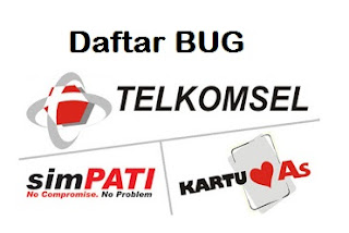 Daftar Bug Host telkomsel terbaru