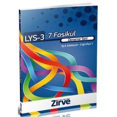 Zirve Dergisi LYS-3 Türk Edebiyatı, Coğrafya-1 (7 Fasikül Deneme Seti)
