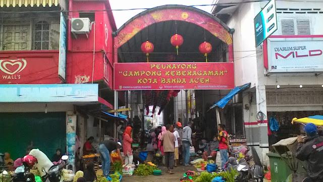 China Itam Di Banda Aceh