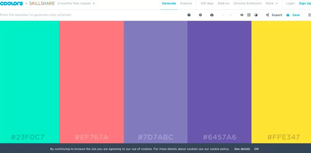 Coolors: Una herramienta gratuita para elegir colores de acuerdo a una imagen