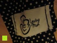 Stoff: Stillen Abdeckung, Stillschal, Stilltuch von Loving Mum - 75 x 110 cm - 100% Baumwolle Schal zum Stillen, Stillcape, Mamascarf, Stillponcho, Stillstola - Bequemes und diskretes Stillen in der Öffentlichkeit! Ideales Geburtsgeschenk für Baby und Mama!