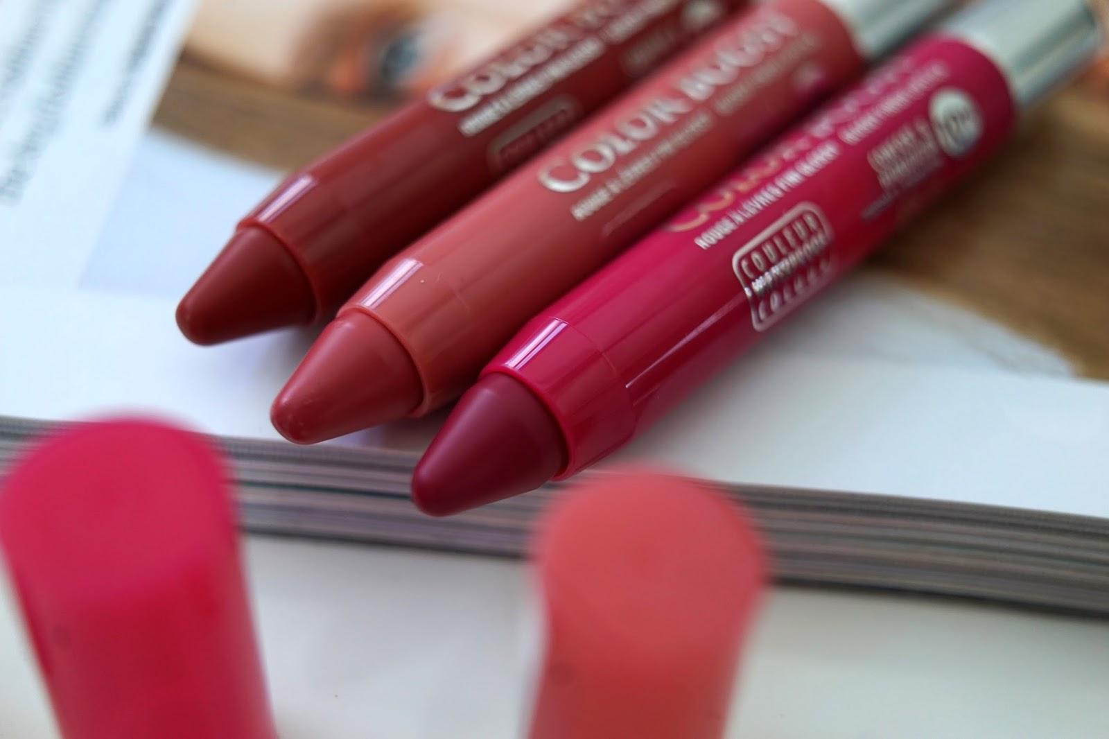 bourjois color boost lipsticks