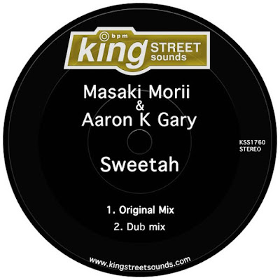 Nuevo single Sweetah de Masaki Morii, Aaron K. Gary