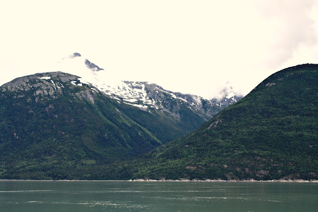 Coming into Skagway Harbor in Alaska