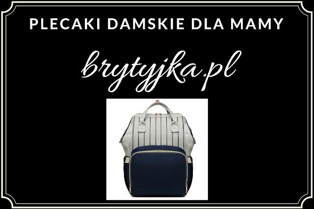 Plecak damski dla mamy - brytyjka.pl