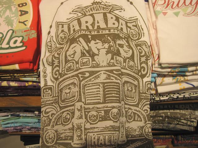 お土産 ジプ二ー柄のTシャツ