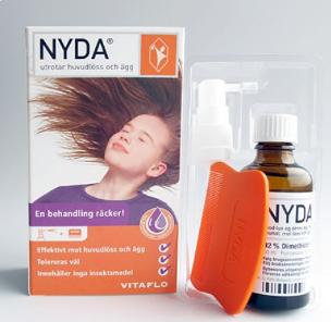 قراءة صيدلانية في تركيب نايدا Nyda افضل علاج القمل