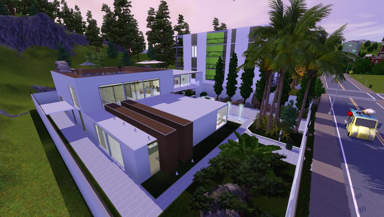 Eightsims the sims 3 the sims 4 rm1 mais uma casa for Casa moderna sims 3 sin expansiones