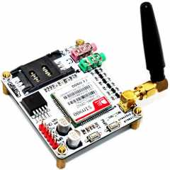 A burglar alarm based on PIR sensor with sms alert using 8051
