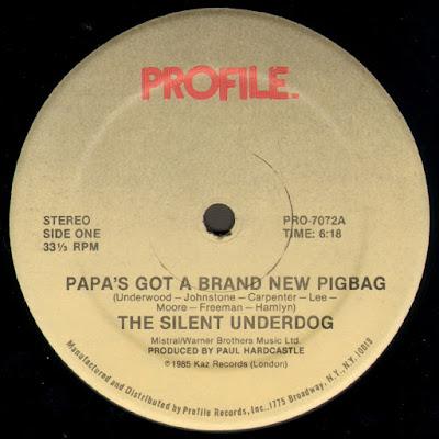 Paul Hardcastle Pigbag Papas Got A Brand New Pigbag