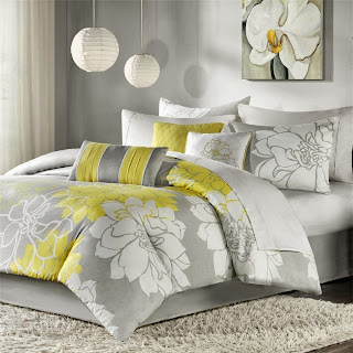 Lola 7 Piece Comforter Set Size: Queen