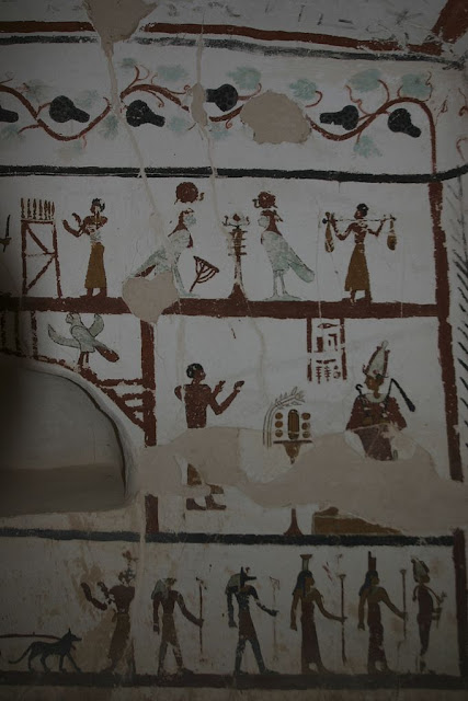 Paintings from the tomb of Sadosiris at Muzawaka (III)