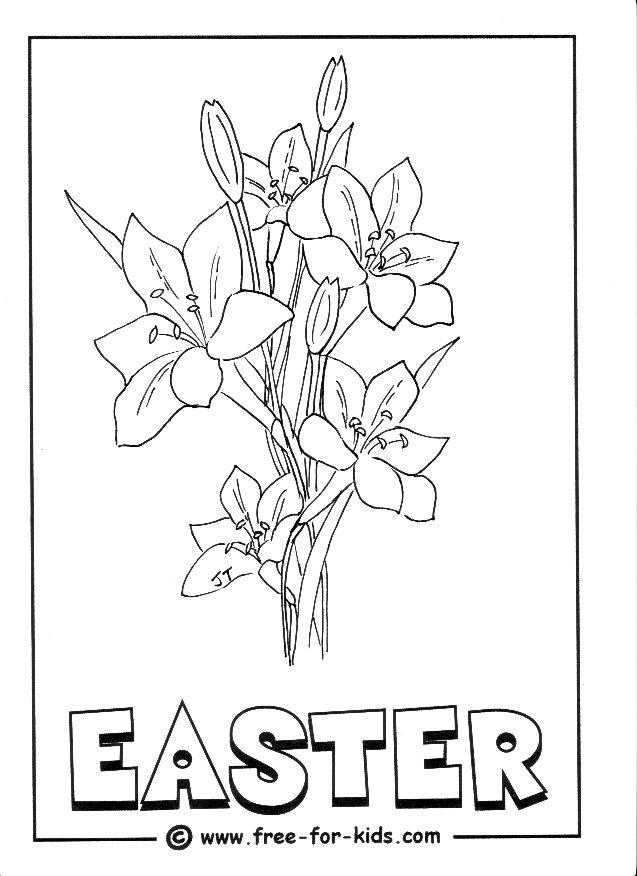inkspired musings: Easter lilies