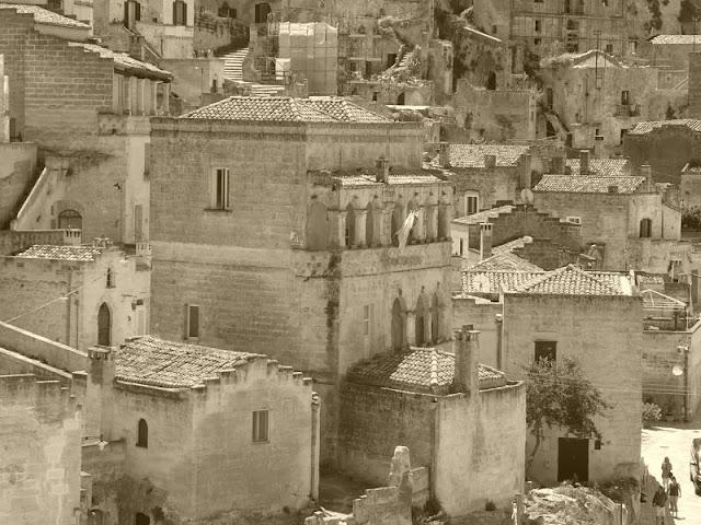 veduta della città di Matera