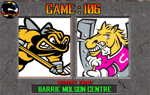 Game Preview: Barrie Colts vs Sarnia Sting. #OHL