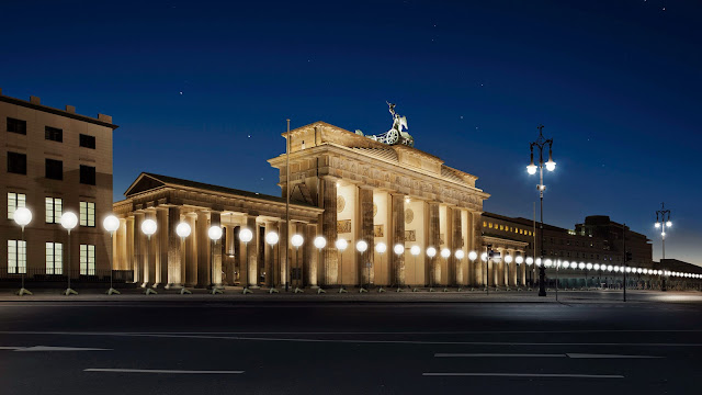 Lichtgrenze, 25 aniversario de la caída del muro de Berlín