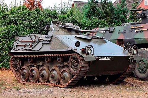 Немецкая-Боевая-разведывательная-машина-Бундесвера-SPz.-11-2-«Kurz»