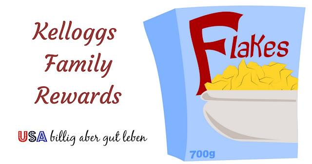 Kelloggs kaufen und Punkte sammeln für kostenlose Gift Cards