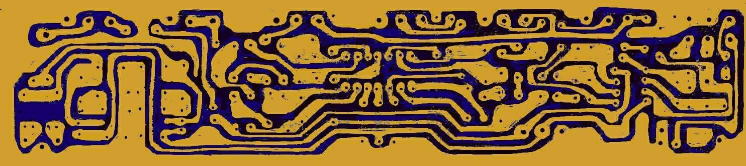 PCB pre amp mic