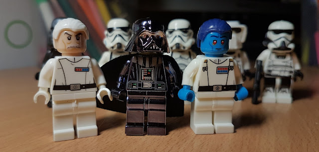 Darth Vader and stormtroopers Star Wars