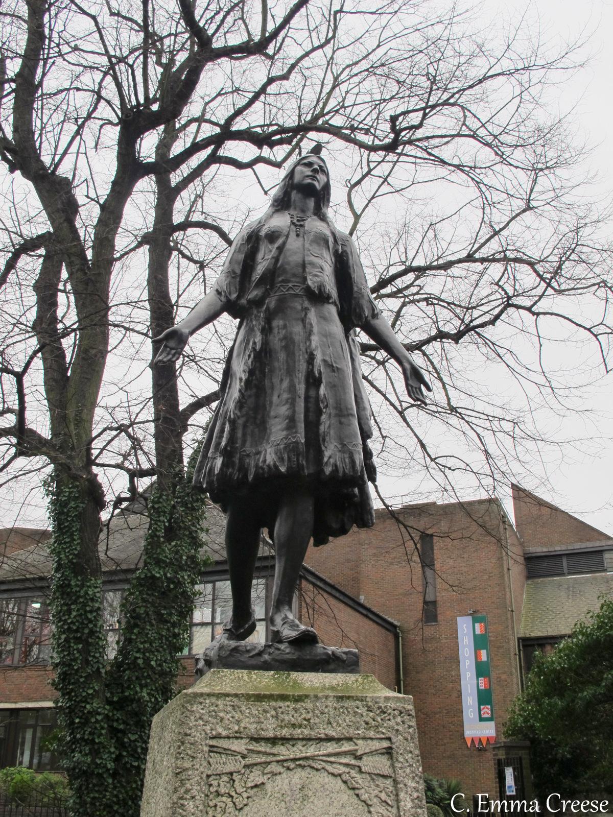 Pocahontas Gravesend Kent Unique England Adventures of a London Kiwi