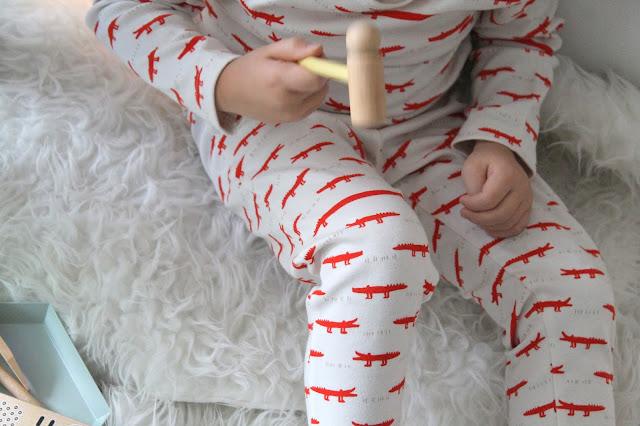 Trixi Schlafanzug Krokodile Bloomingville Arztkoffer Weihnachten Geschenkideen Jules kleines Freudenhaus