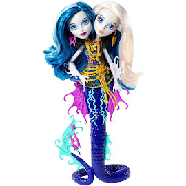 MH Great Scarrier Reef Peri and Pearl Serpentine Doll