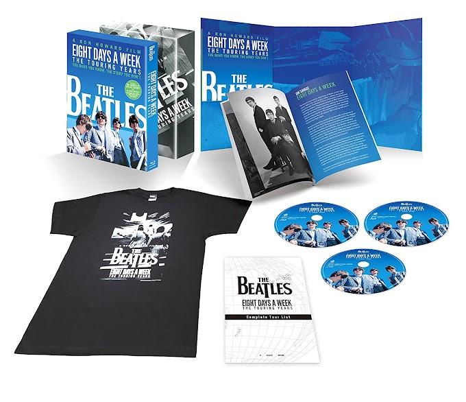 『ザ・ビートルズ - EIGHT DAYS A WEEK ‐ The Touring Years』 Blu-ray / DVD 2016年12月21日発売