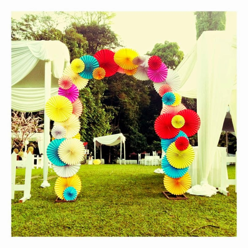 dekorasi pernikahan impian Do It Yourself Dunia Diny